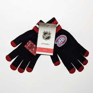 """Montreal Canadiens """"GO! CANADIENS"""" Youth Gloves"""